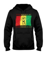 Juneteenth Is My Independence Day Hooded Sweatshirt thumbnail