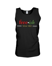 Juneteenth Independence Since 1965 Multicolored Unisex Tank thumbnail