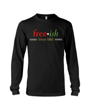 Juneteenth Independence Since 1965 Multicolored Long Sleeve Tee thumbnail