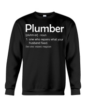 Plumber Definition Crewneck Sweatshirt thumbnail