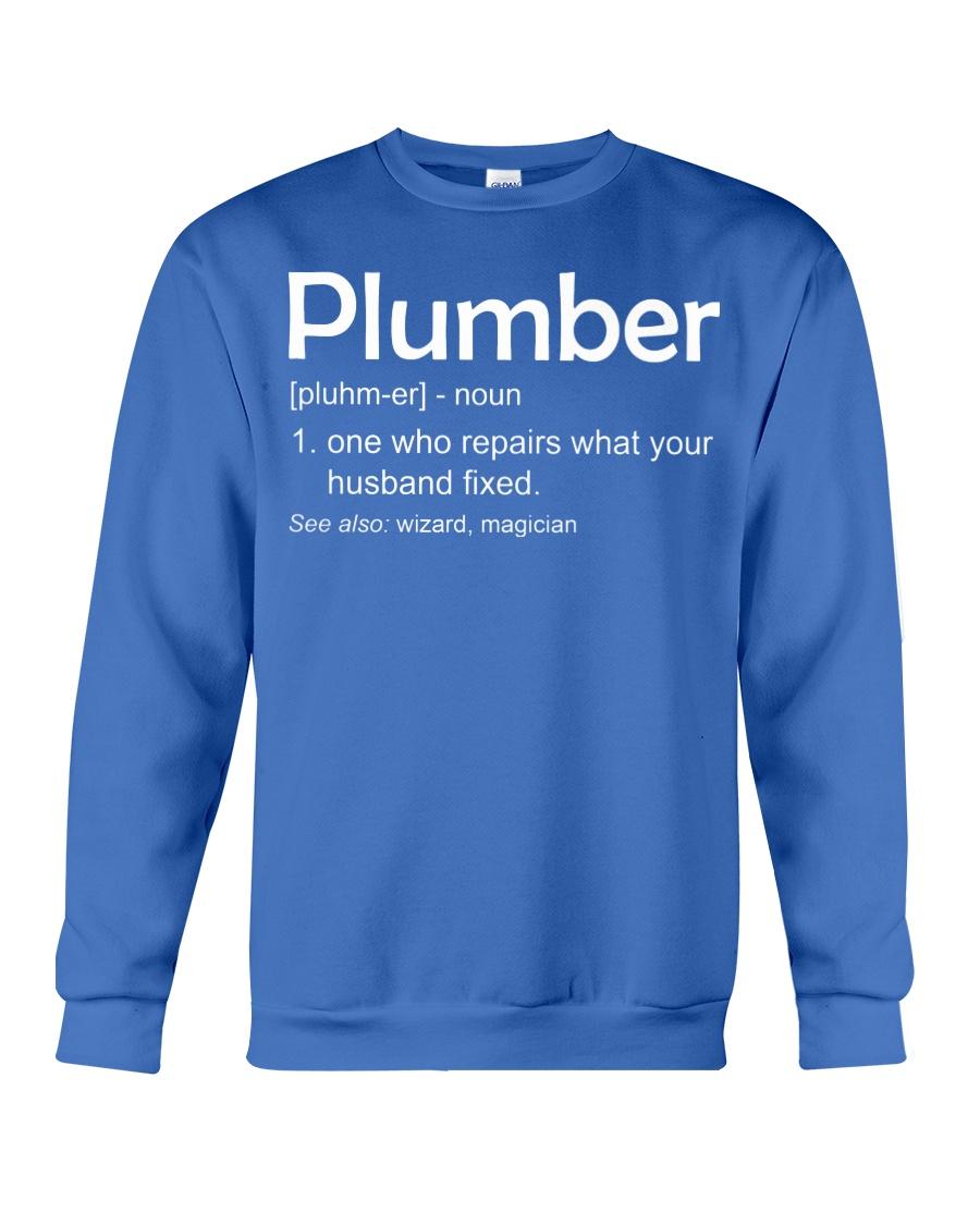 Plumber Definition Crewneck Sweatshirt