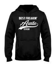 Best Feakin' Auntie Ever Hooded Sweatshirt front