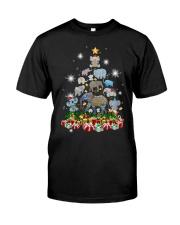 Elephant Christmas Classic T-Shirt thumbnail