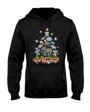 Elephant Christmas Hooded Sweatshirt thumbnail