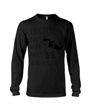 Unicorns Don't Wear Pants So Neither Do I Long Sleeve Tee thumbnail