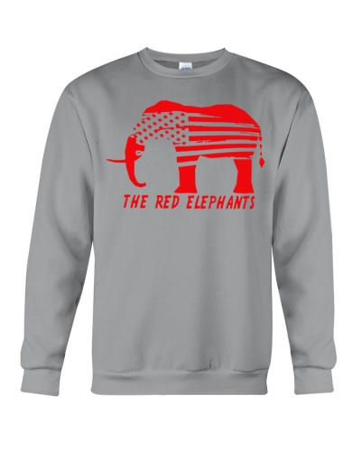 Elephants-the red