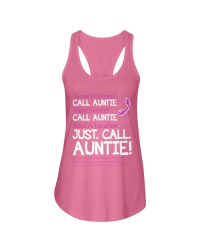 JUST CALL AUNTIE