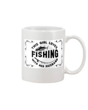 FISHING BAGS Mug tile