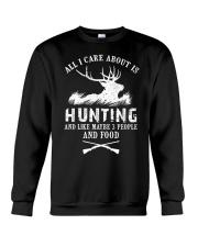 HUNTING HUNTING HUNTING Crewneck Sweatshirt front