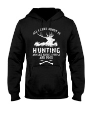 HUNTING HUNTING HUNTING Hooded Sweatshirt thumbnail