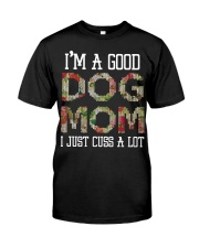 DOG MOM DOG MOM Classic T-Shirt front