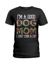 DOG MOM DOG MOM Ladies T-Shirt thumbnail