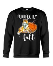fall fall fall Crewneck Sweatshirt thumbnail