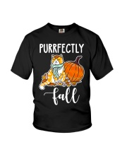 fall fall fall Youth T-Shirt thumbnail