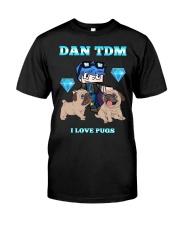 DanTDM and Pugs Classic T-Shirt thumbnail