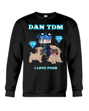 DanTDM and Pugs Crewneck Sweatshirt thumbnail
