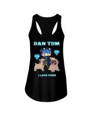 DanTDM and Pugs Ladies Flowy Tank thumbnail