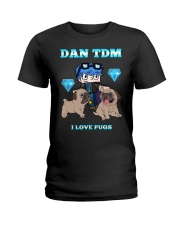 DanTDM and Pugs Ladies T-Shirt thumbnail