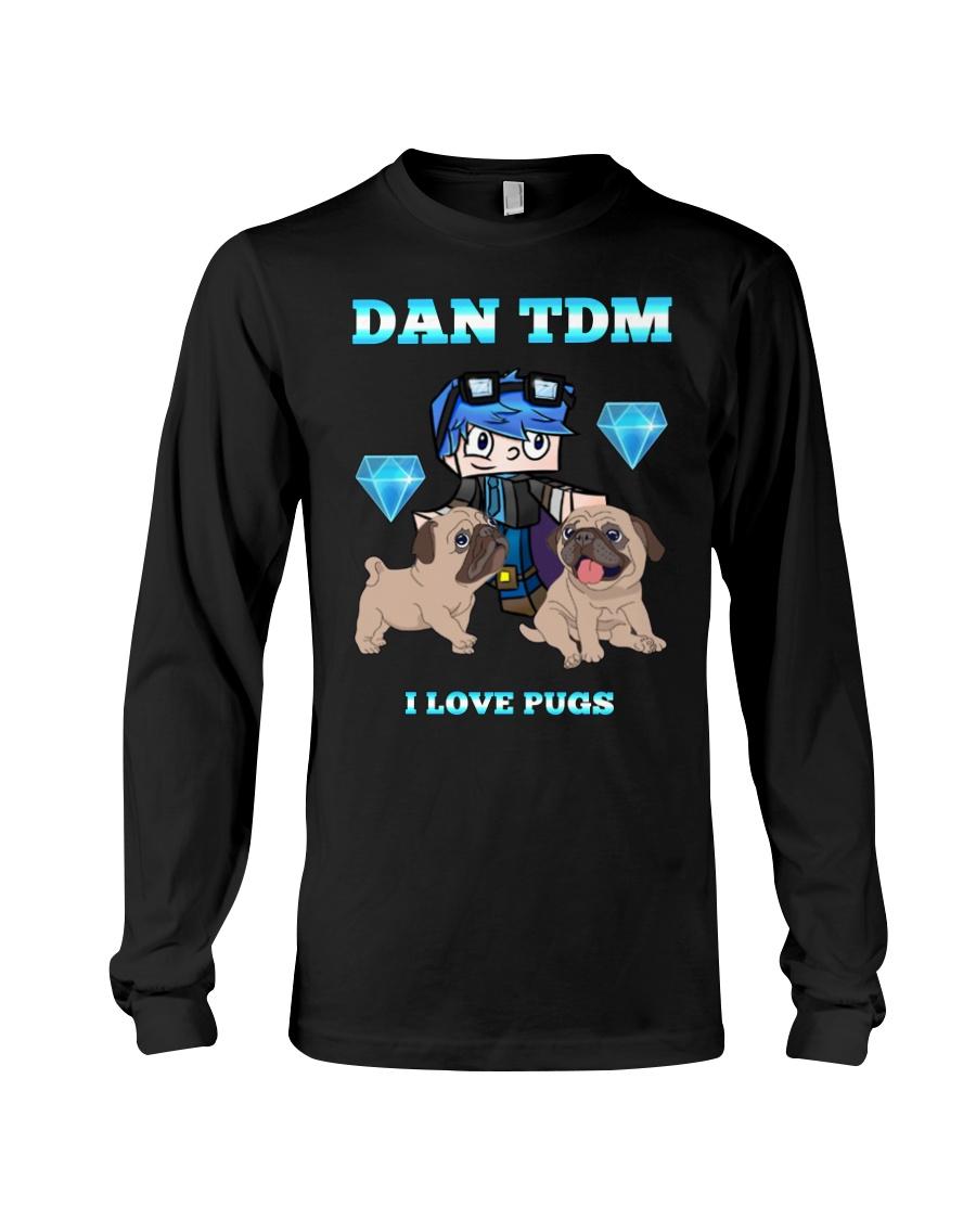 DanTDM and Pugs Long Sleeve Tee