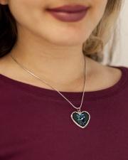 DANTDM PHONECASE Metallic Heart Necklace aos-necklace-heart-metallic-lifestyle-1