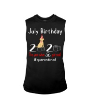 July Birthday with your dog Sleeveless Tee thumbnail
