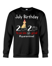 July Birthday with your dog Crewneck Sweatshirt thumbnail