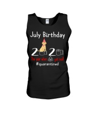 July Birthday with your dog Unisex Tank thumbnail