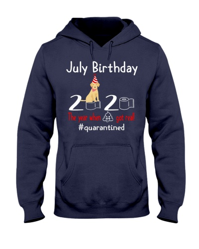 July Birthday with your dog