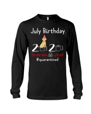 July Birthday with your dog Long Sleeve Tee thumbnail