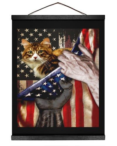 Independence Day with Cat