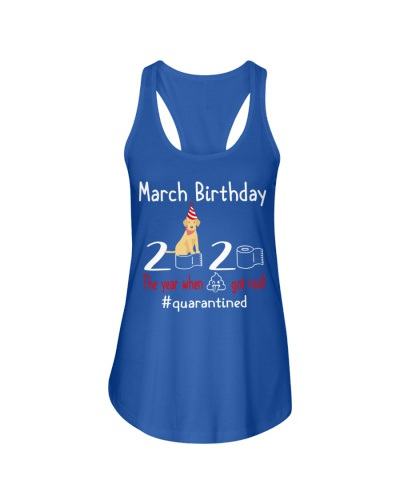 March Birthday with your dog