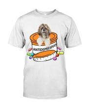 Shih Tzu-Antidepresivo Classic T-Shirt thumbnail