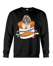 Shih Tzu-Antidepresivo Crewneck Sweatshirt thumbnail