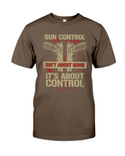 01 Gun Control Not About Guns Classic T-Shirt tile