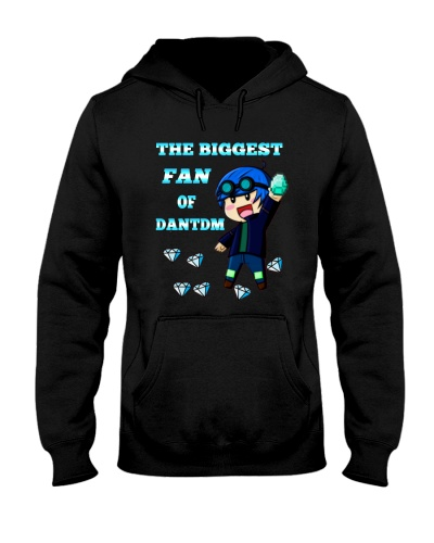 DANTDM T-SHIRT OF THE BIGGEST FAN