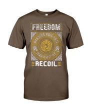 19 Gun Control Freedom Recoil Classic T-Shirt tile