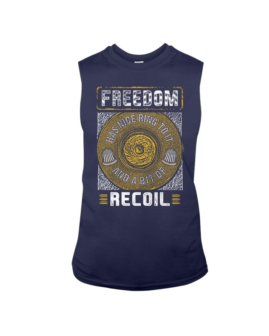 19 Gun Control Freedom Recoil Sleeveless Tee
