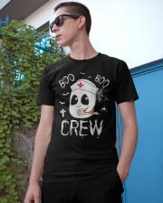 Funny Nurse Shirts Boo Boo Crew Classic T-Shirt apparel-classic-tshirt-lifestyle-17