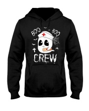 Funny Nurse Shirts Boo Boo Crew Hooded Sweatshirt thumbnail