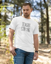 Teacher Strong gifts Classic T-Shirt apparel-classic-tshirt-lifestyle-front-49