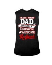 Best Kind Of Dad Raises A freaking awesome Redhead Sleeveless Tee thumbnail