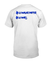 Clown13 BLue Classic T-Shirt back