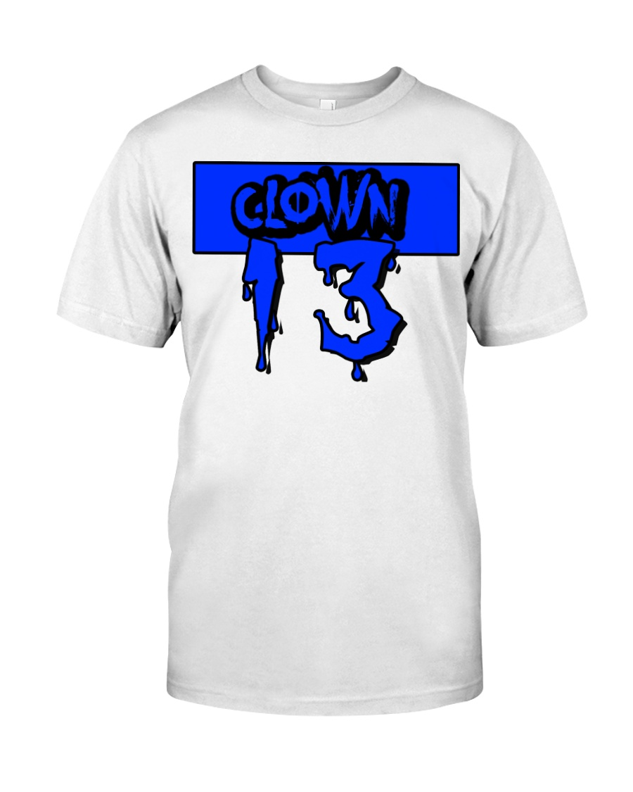 Clown13 BLue Classic T-Shirt