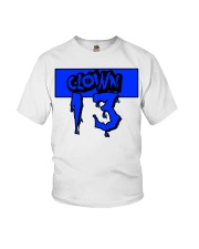 Clown13 BLue Youth T-Shirt thumbnail
