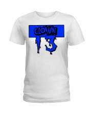 Clown13 BLue Ladies T-Shirt thumbnail