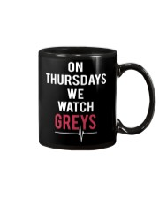 On Thursdays We Watch Greys Mug thumbnail