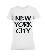 new york city t-shirt Premium Fit Ladies Tee thumbnail