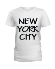 new york city t-shirt Ladies T-Shirt thumbnail