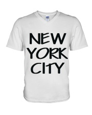 new york city t-shirt V-Neck T-Shirt thumbnail