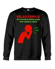 Weed Cough Crewneck Sweatshirt thumbnail